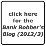 Jeffrey Frye's Bank Robber's Blog (2012-2013)