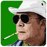 Hunter S. Thompson: Click For Larger Image